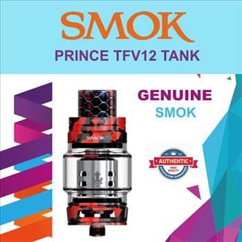 SMOK TFV12 red camouflage.png by Trip Voltage