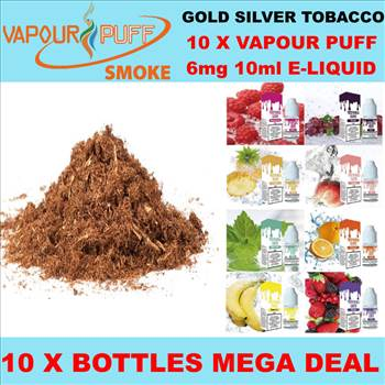 VAPOUR PUFF 6MG GOLD SILVER TOBACCO.png by Trip Voltage