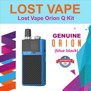 LOST VAPE Q blue black.png by Trip Voltage