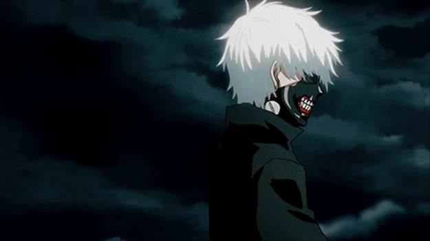 Tokyo Ghoul animated gif.gif by Trip Voltage