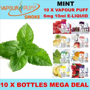 VAPOUR PUFF 6MGRED MINT.png by Trip Voltage