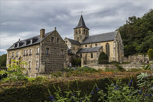 L'Abbaye de Graville by Andy Morton Photography