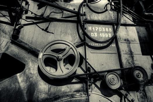 Combine Machine.jpg by John D Williams Art Photography