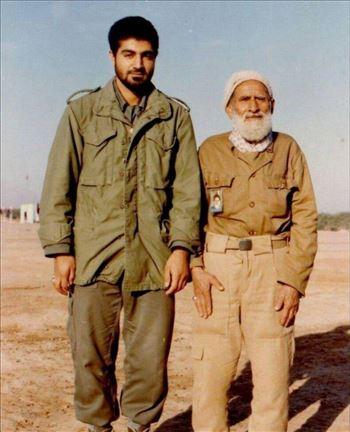 photo_2017-11-01_13-38-32.jpg - تصویری از سردار سلیمانی و پدرش در جبهه