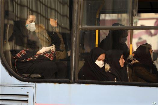 APTOPIX Virus Outbreak Mideast Iran by mohsen dehbashi