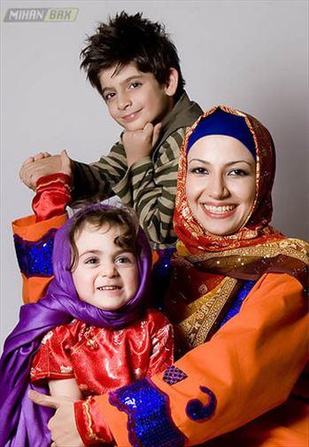 0.199447001282828130_irannaz_com.jpg - ملیکا زارعی (خاله شادونه) و بچه هاش
