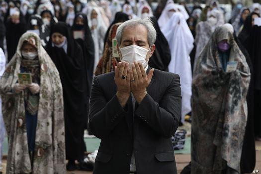APTOPIX Iran Virus Outbreak Ramadan Holiday Lockdown by mohsen dehbashi