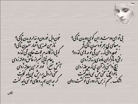 دل نوشته ای ازیک ناشناس by mohsen dehbashi