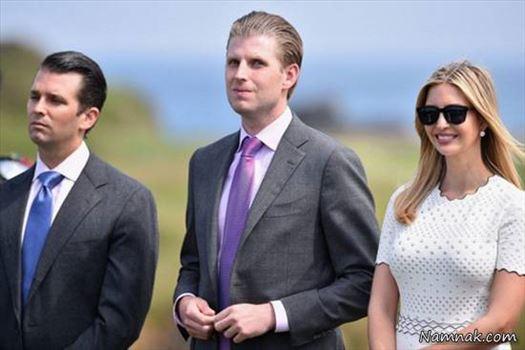 خانواده-ترامپ.jpg - اعضای خانواده دونالد ترامپ