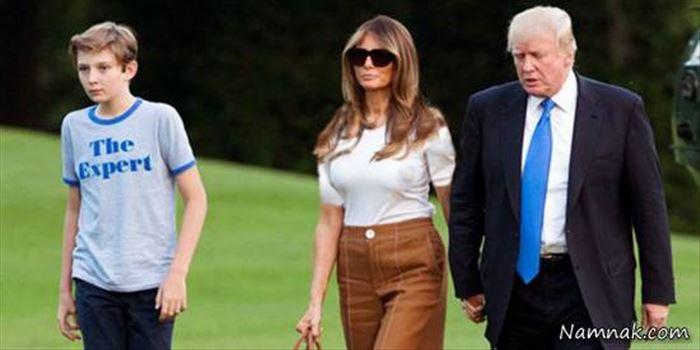 خانواده-ترامپ (1).jpg - اعضای خانواده دونالد ترامپ