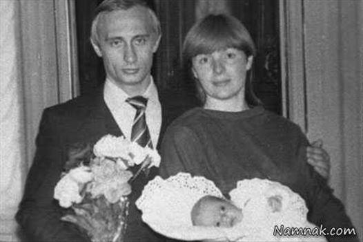 ولادیمیر-پوتین.jpg - عکس قدیمی از همسر و فرزند ولادیمیر پوتین