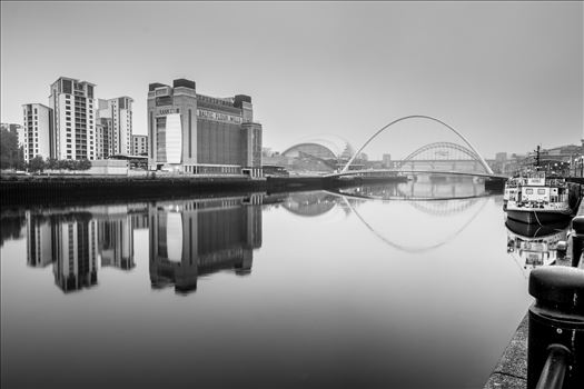 Newcastle/Gateshead Quayside - The Baltic Arts centre on the banks of the River Tyne