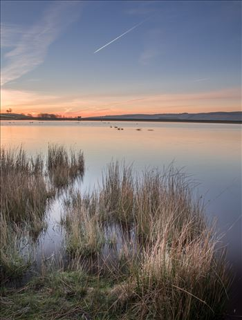 Embsay Reservoir at sunrise by philreay