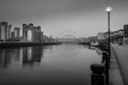 Newcastle/Gateshead Quayside - The River Tyne taken from Newcastle quayside