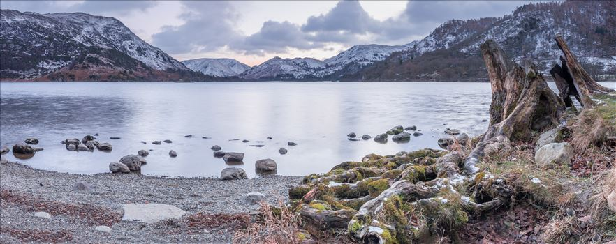 Ullswater at sunset by philreay