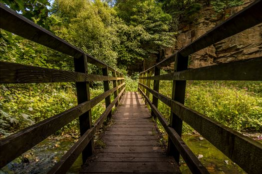 A wooden bridge by philreay