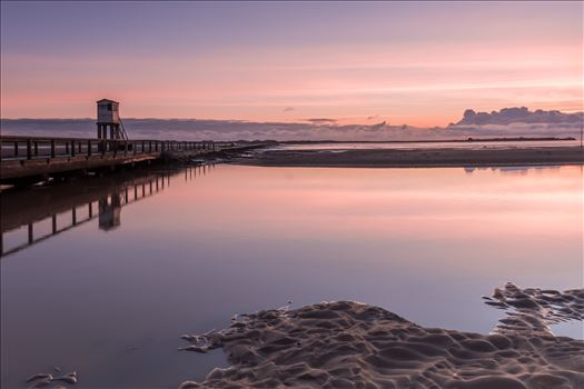 Holy Island causeway by philreay