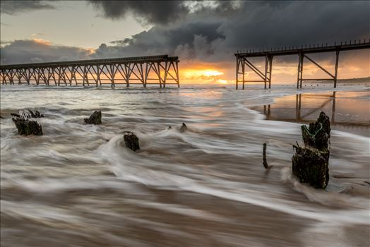 Sunrise at Steetley Pier by philreay