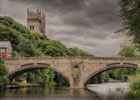 Durham riverside & Cathedral by philreay