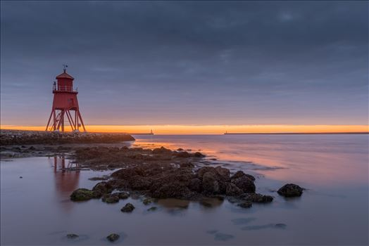 Sunrise at South Shields by philreay