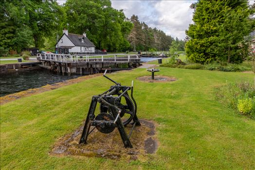 Kytra lock, Caladonian canal, Scotland by philreay