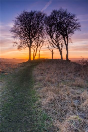 Sunset at Copt Hill - Orton edit by philreay