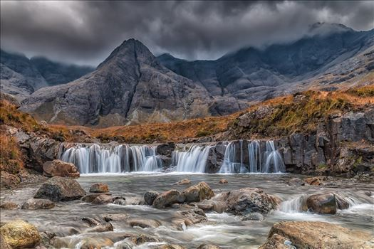 The Fairy Pools, Skye by philreay