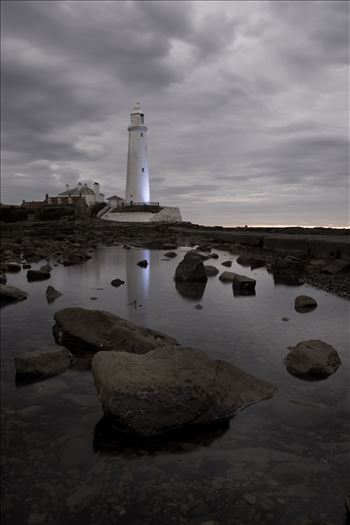 St Mary`s Island & lighthouse by philreay