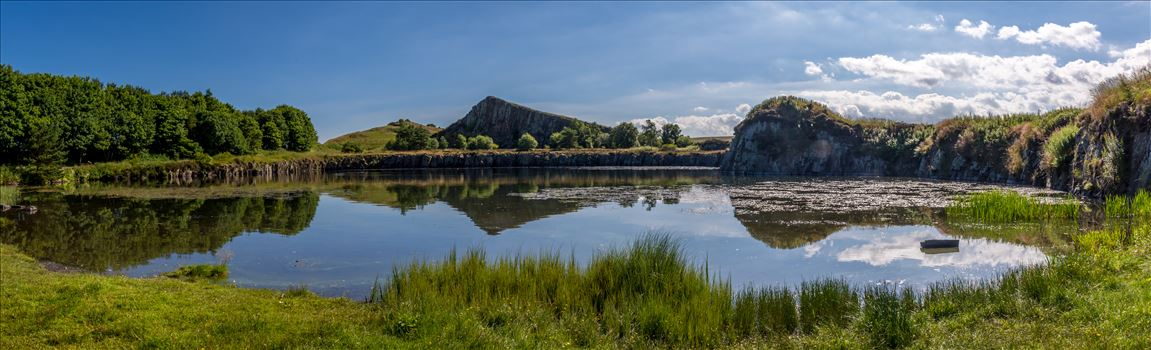 Cawfields Quarry by philreay