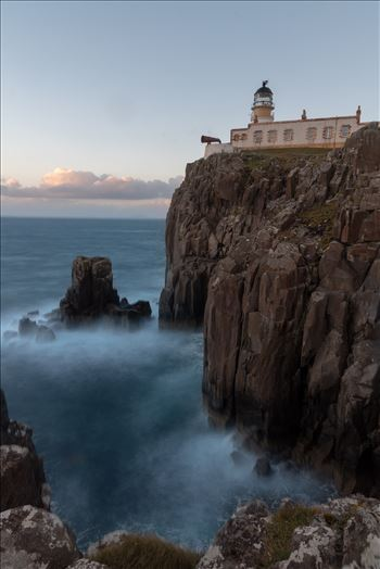Neist Point lighthouse, Skye by philreay