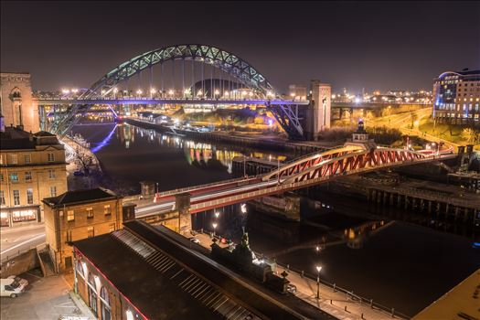 The Tyne at night 2 by philreay