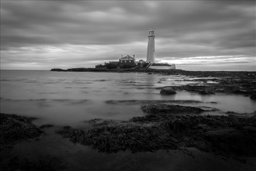 St Mary`s lighthouse, Whitley Bay by philreay