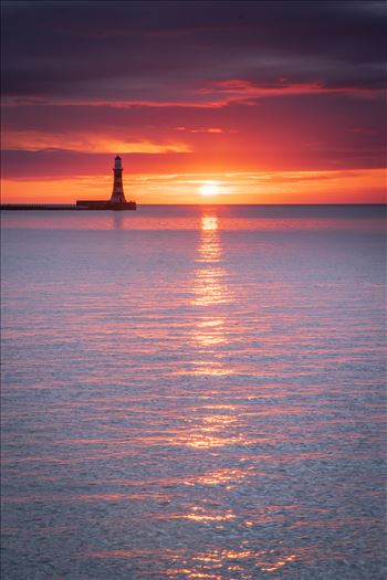 Sunrise at Roker Pier by philreay