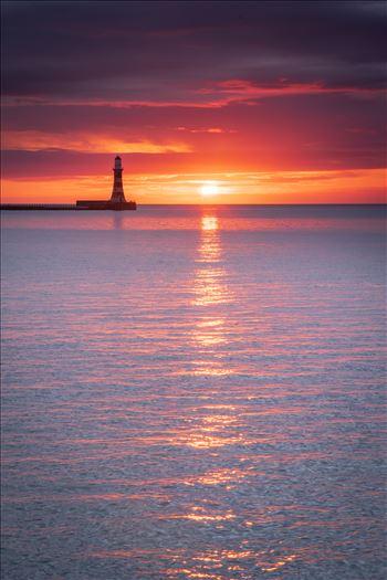 Sunrise at Roker Pier -