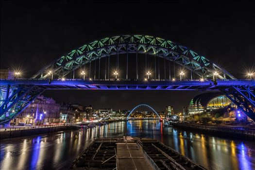 The Tyne bridge, Newcastle by philreay