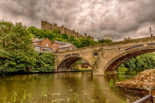Durham riverside & castle by philreay