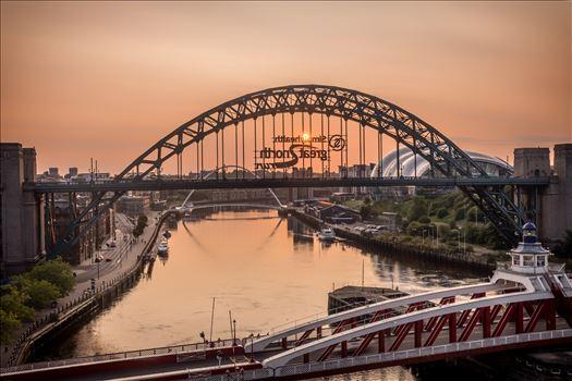 Sunrise over the Tyne -