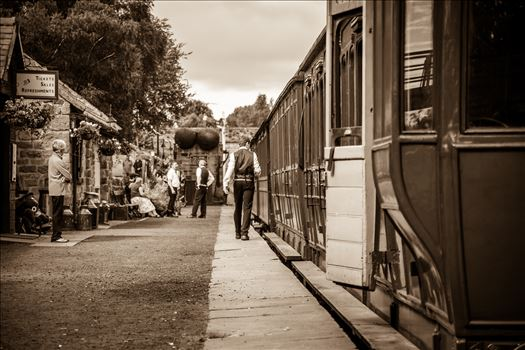 On the platform by philreay