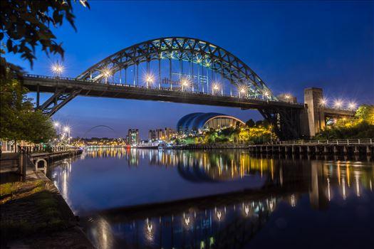 The Tyne at night -