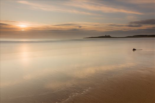 Sunrise at Embleton Bay, Northumberland. (also in black & white) by philreay
