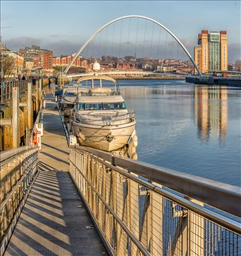 Newcastle marina by philreay