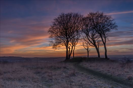 Sunset at Copt Hill by philreay