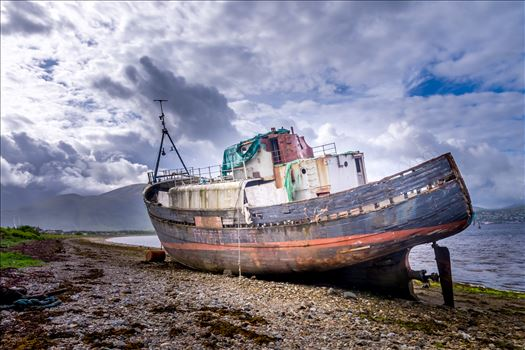 The Corpach wreck by philreay