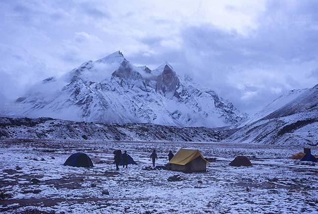 Mountains- Bhagirathi Peak (India) Snow Covered Bhagirathi Peak in Garhwal Himalayas in Uttarakhand, India. by Anil Sharma Fotography