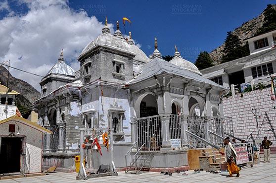 Travel- Gangotri (Uttarakhand) Gangotri, Uttarakhand, India- May 13, 2015: Goddess Ganges Temple at Gangotri, Uttarkashi, Uttarakhand, India by Anil Sharma Fotography