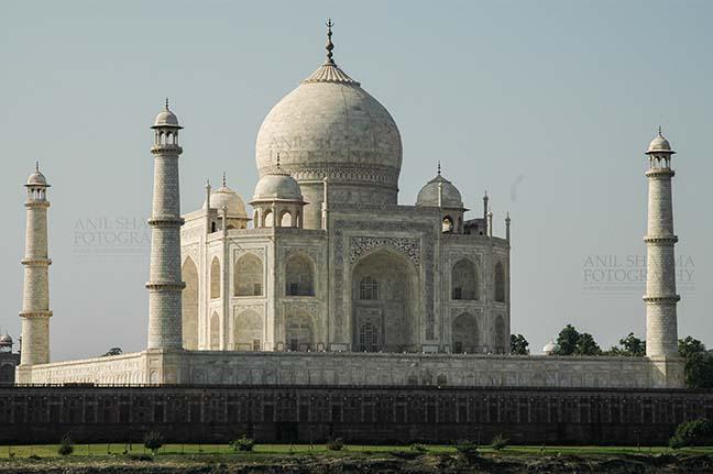 "Monuments- Taj Mahal, Agra (India) Side view of Taj Mahal ""The Jewel of Muslim art in India"" at Agra, Uttar Pradesh, India. by Anil Sharma Fotography"