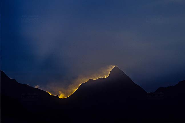 Mountains- Nanda Devi Peak (India) Nanda Devi Peak in Kumaon Himalayas in Uttarakhand, India. by Anil Sharma Fotography