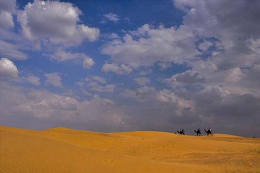 Clouds- sky with clouds (Jaisalmer) by Anil