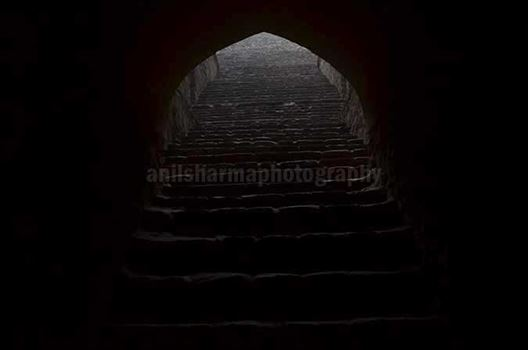 Monuments: Agrasen ki Baoli or Stepwell at New Delhi by Anil