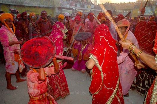Festivals- Lathmaar Holi of Barsana (India) by Anil Sharma Fotography